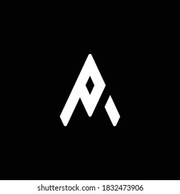 PA logo. PA Letter logo. PA vector logo  Illustrated logo  minimal design.
