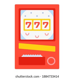 Pachinko - Gambling icon set. High quality flat vector illustration for website and mobile application.