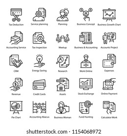 A Pack of Accounting Icons