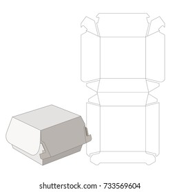 package box schematic drawing