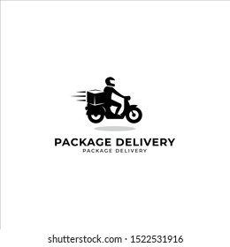 Package Delivery Logo Vector Icon Illustration