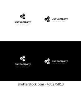 Packaging delivery transport logo design