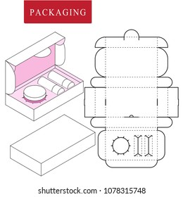 Packaging design for product set or gift set