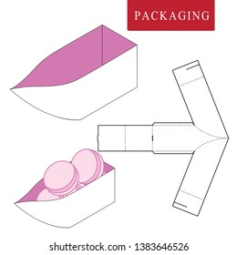 Packaging template ship concept for business.
