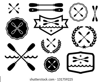 Paddle Badges and Icons.