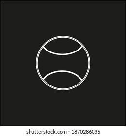 paddle ball on white background vector