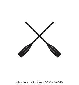 Paddle Icon Logo Vector Symbol