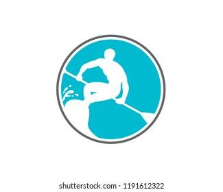 paddleboarding icon 1