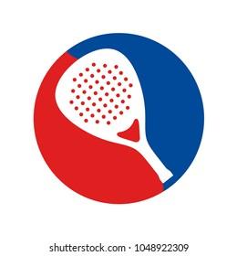Padel racket icon