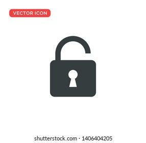 Padlock Icon Vector Illustration Design