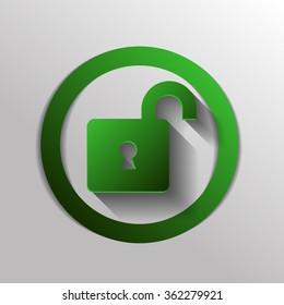 padlock symbol icon
