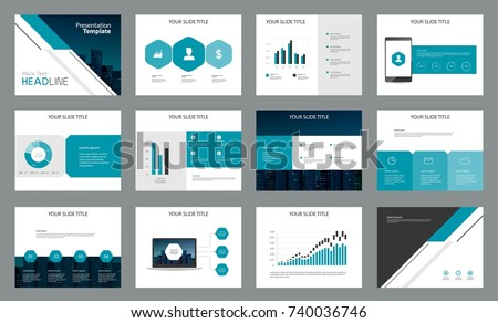 Page design business presentation template report stock vector page design for business presentation template and for report company profile brochure and book wajeb Choice Image