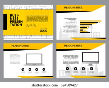 Page layout design template for presentation and brochure , Annual report, flyer page with infographic elements design