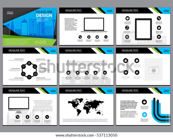 Page Layout Design Template Presentation Brochure Stock Vector Royalty Free 537113050