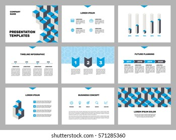 Page layout template for presentation and brochure , Annual report, flyer and book page with infographic elements design. Vector illustration