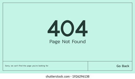 page not found 404 error concept on the website and having problems due to broken web page, flat vector illustration