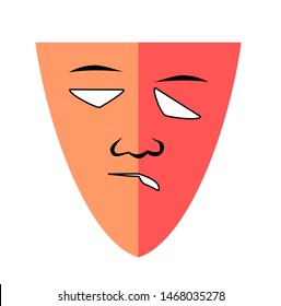 Painful human red face from Trigeminal Neuralgia or Temporomandibular  Muscle Disorder, People suffering from facial pain, mumps or toothache