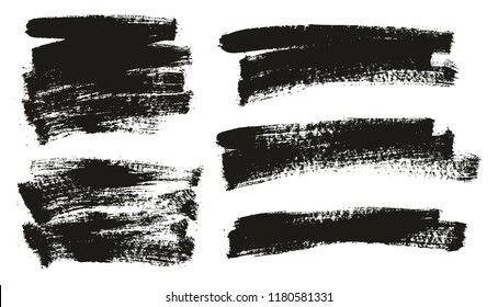 Paint Brush Background High Detail Abstract Vector Background Set 54