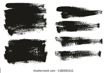 Paint Brush Background High Detail Abstract Vector Background Set 69