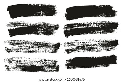 Paint Brush Background High Detail Abstract Vector Background Set 114