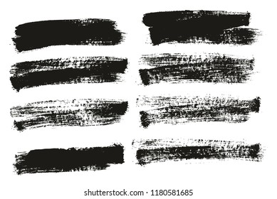 Paint Brush Background High Detail Abstract Vector Background Set 115