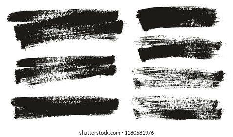 Paint Brush Background High Detail Abstract Vector Background Set 133