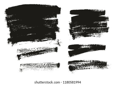 Paint Brush Background High Detail Abstract Vector Background Set 138