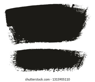 Paint Brush Medium Background High Detail Abstract Vector Background Set 105