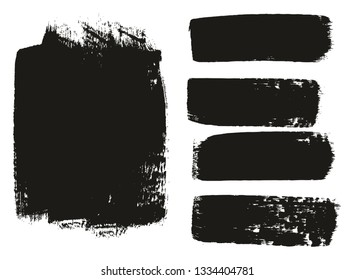 Paint Brush Medium Background & Lines High Detail Abstract Vector Background Mix Set 02