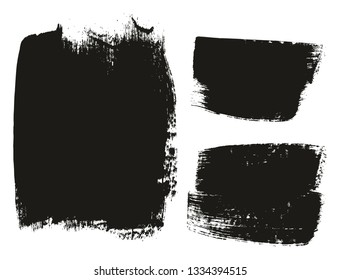 Paint Brush Medium Background Mix High Detail Abstract Vector Background Set 43