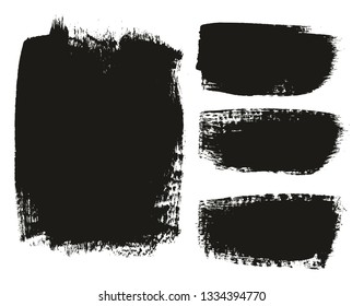 Paint Brush Medium Background Mix High Detail Abstract Vector Background Set 74