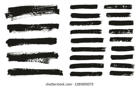 Paint Brush Thin Background & Lines High Detail Abstract Vector Background Mix Set 70