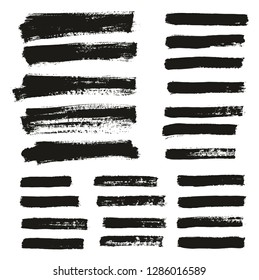 Paint Brush Thin Background & Lines High Detail Abstract Vector Background Mix Set 130