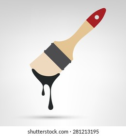 Dripping Paint Brush Images Stock Photos Amp Vectors
