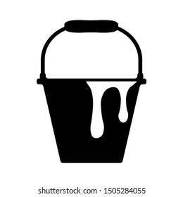 paint bucket icon - From Working tools, Construction and Manufacturing icons, equipment icons