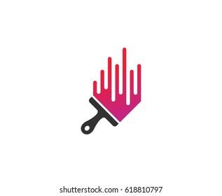 paint logo images stock photos vectors shutterstock