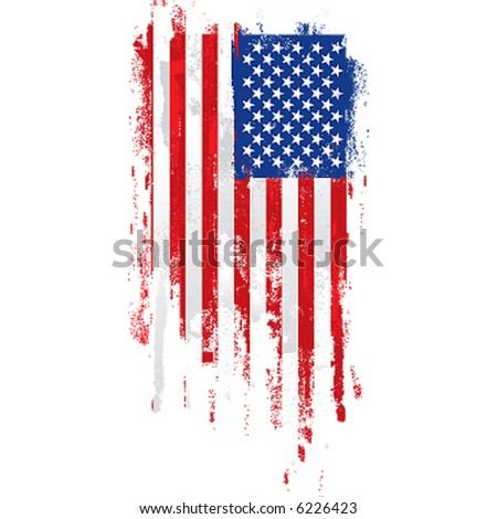 ab46e1b64 Paint Roller American Flag Stock Vector (Royalty Free) 6226423 ...