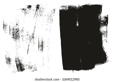 Paint Roller Background High Detail Abstract Vector Background Set 137