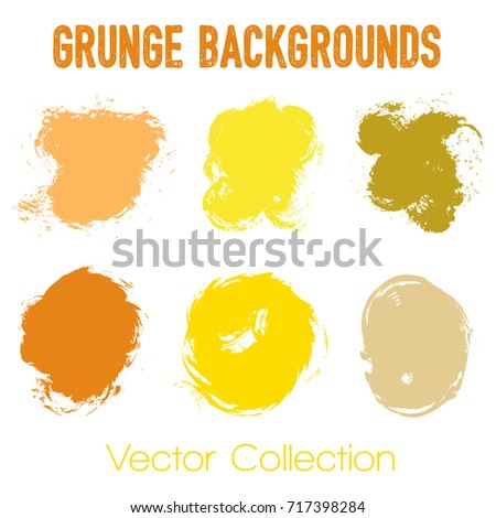 Paint Samples Choice Palette Of Brush Stroke Backgrounds. Can Be Used In  Colors Guide Book, Interior Design Catalog, Printing Industry.