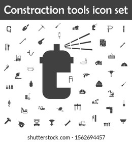 Paint spray icon. Constraction tools icons universal set for web and mobile