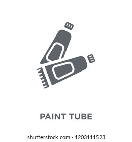 Paint tube icon. Paint tube design concept from collection. Simple element vector illustration on white background.