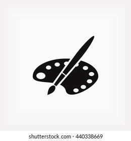 paint vector icon