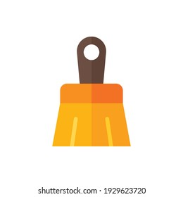 Paintbrush, Brush Flat Icon Logo Illustration Vector Isolated. Labour Day, May Day, Industry, And Construction Icon-Set. Suitable for Web Design, Logo, App, and Upscale Your Business.