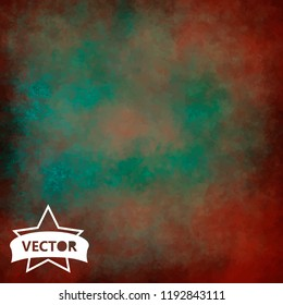 Painted grunge backgroud. High resolution. Vector.