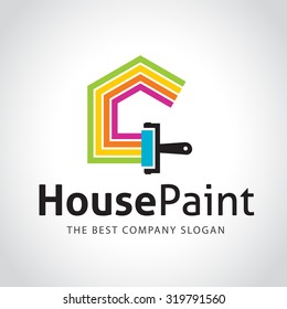 painting logo images stock photos vectors shutterstock