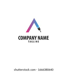 Painting logo. Can be used for construction companies.