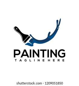 Painting Logo Design