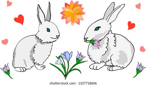 March hare interracial cartoons share