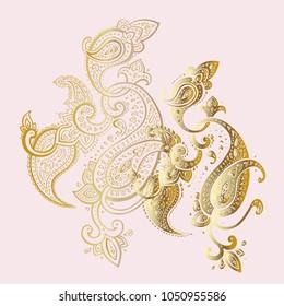 Paisley. Ethnic ornament
