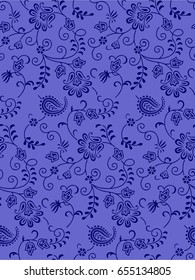 paisley ornamental pattern
